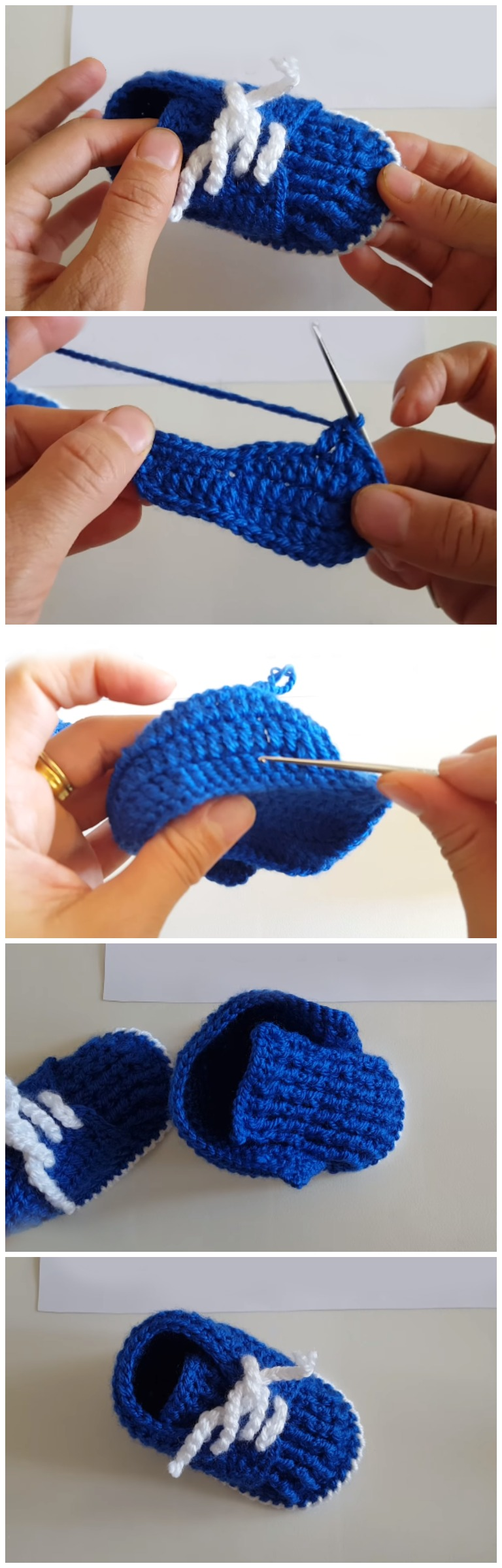 Easy And Beautiful Baby Booties Free Pattern [Video] - ilove-crochet