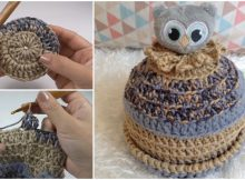 Owl Beanie Hat For Kids