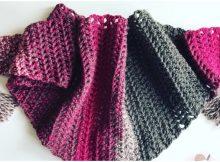 Crochet Great Triangle Shawl