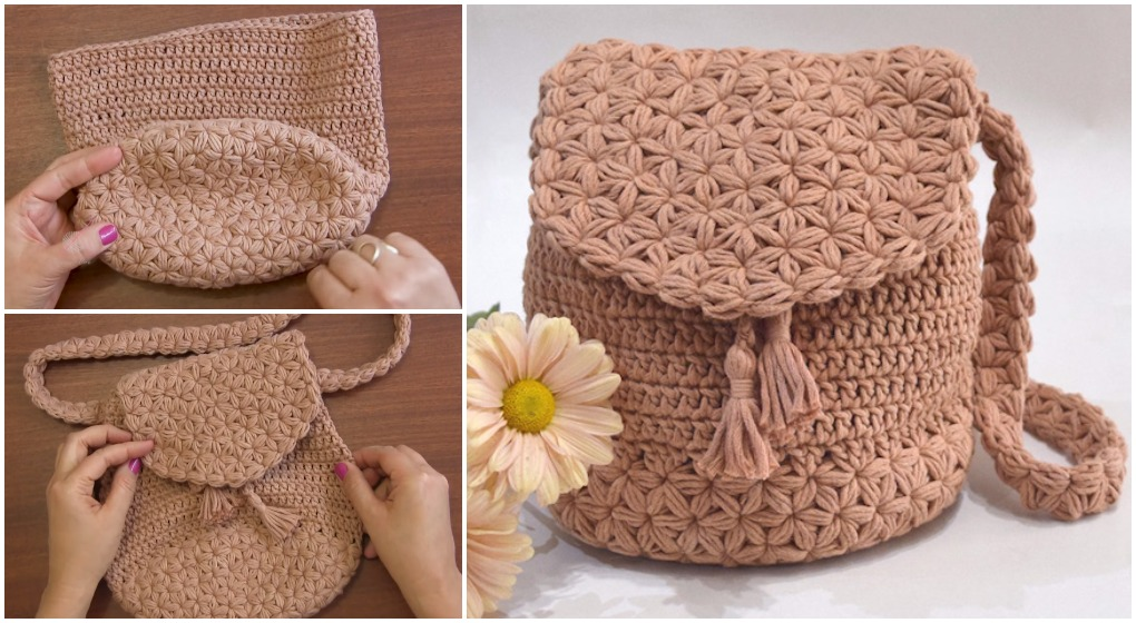 Crochet Bag Jasmine Stitch Free Pattern Video Ilove