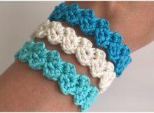 Easy Bracelet ZigZag Stitch