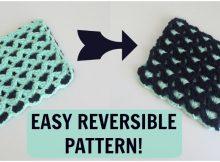 Easy Reversible Crochet Pattern