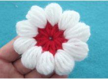 Flower Puff Stitch