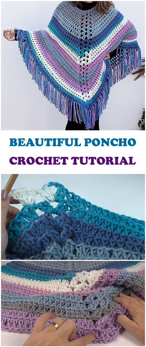 Crochet Beautiful Poncho