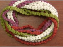 Scarf In Intertwined Braids