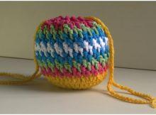 Beautiful Bag Brick Stitch