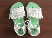 Slippers With Flip Flop Soles