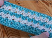 Stacked Granny Stitch Ideal For Blankets