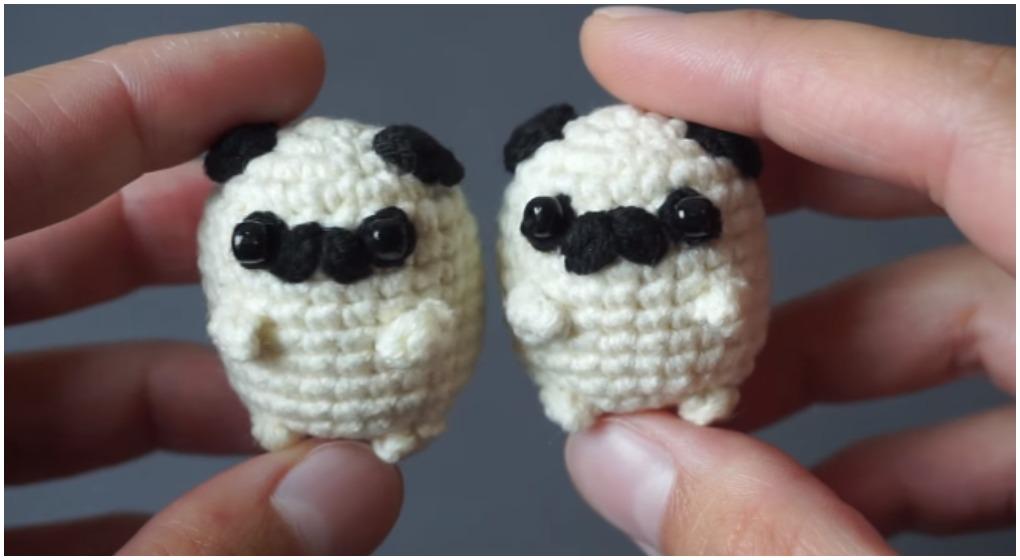 Baby Pug Dog amigurumi pattern - Amigurumi Today | 560x1020