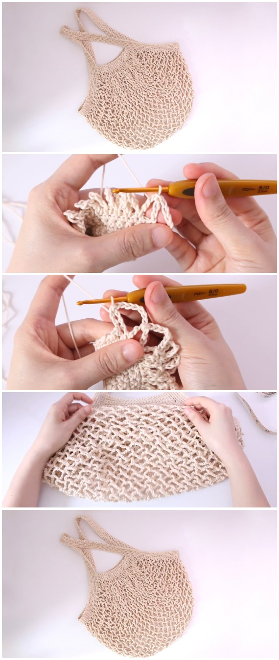 Crochet Beautiful Tote Bag - Free Pattern [Video]