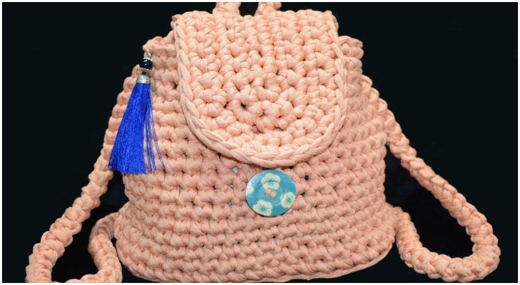 Crochet Beautiful Easy Backpack Ilove Crochet