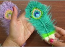 Peacock Reversible Feathers