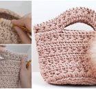 Handbag Jasmine Stitch