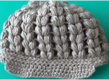 Beanie Puff Stitch