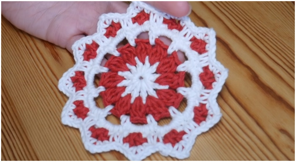 Crochet Beautiful Coasters For Christmas Ilove Crochet