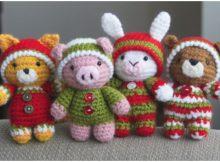 Christmas Animals Amigurumi