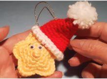 Crochet Christmas Star Amigurumi
