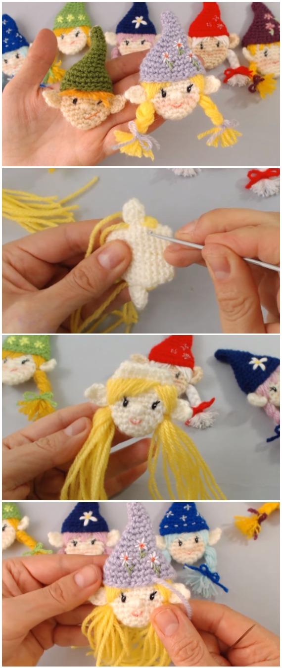 Crochet Christmas Elf Amigurumi