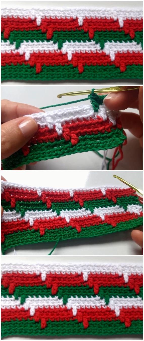 Learn To Crochet Apache Tears Stitch
