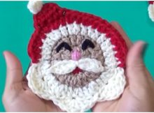 Santa Face Applique