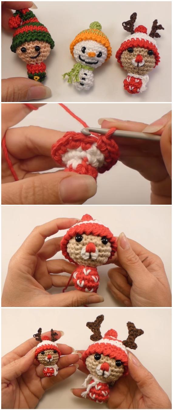 Crochet Christmas Puppets Amigurumi