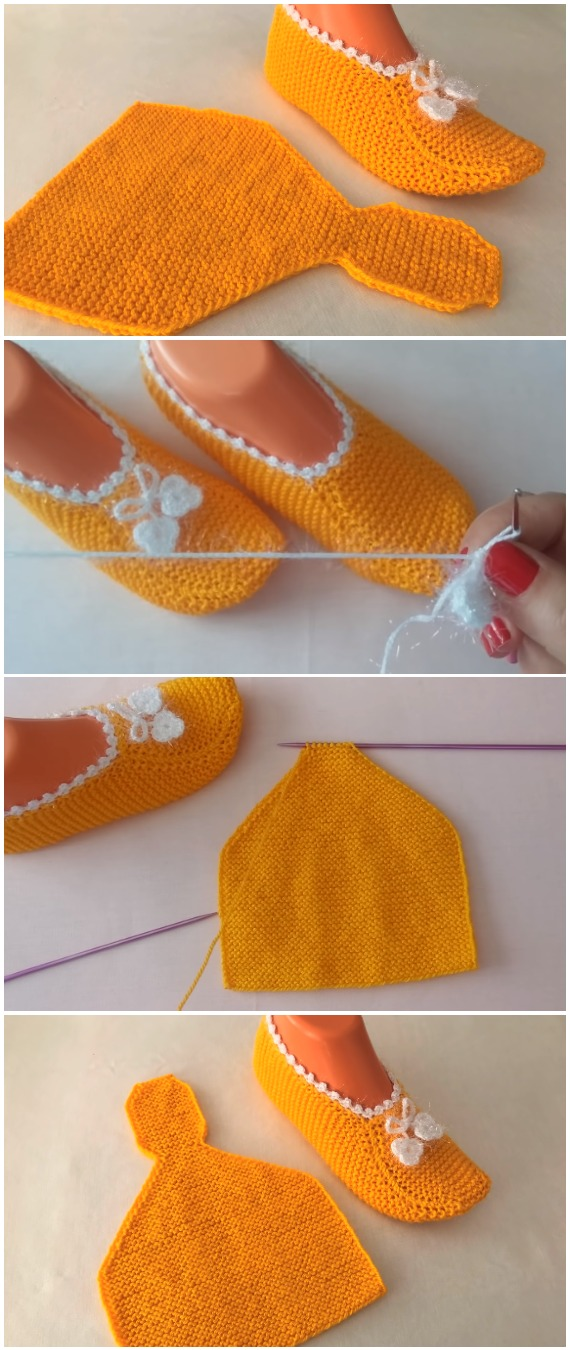 Easy To Make Booties - Crochet/Knit