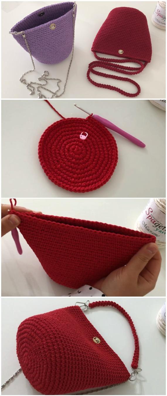 Learn To Crochet Easy Beautiful Bag