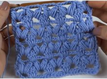 Puff Stitch - Easy Way