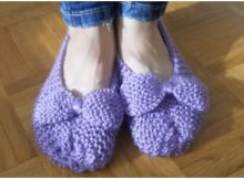 Slippers With Bow
