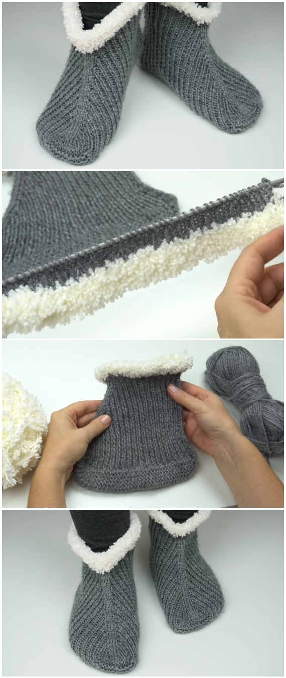 Easy To Make Beautiful Booties