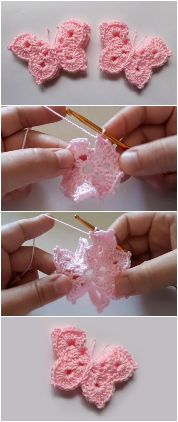 Crochet Easy Beautiful Butterfly