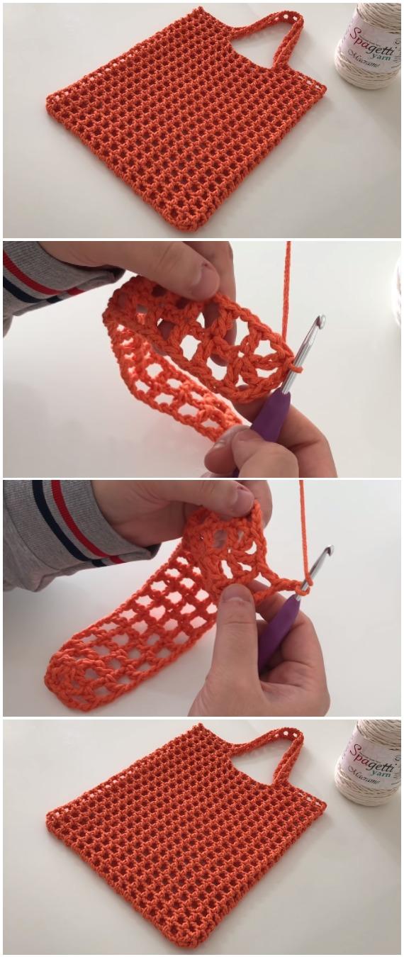 Crochet Easy Market Bag