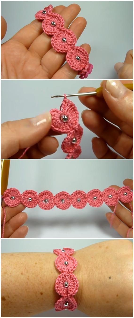 Crochet Easy Gorgeous Bracelet