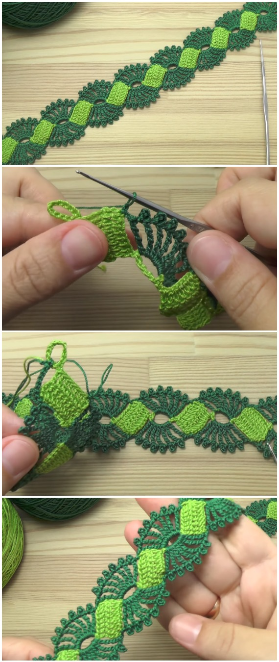 Crochet Easy Ribbon Lace Tape