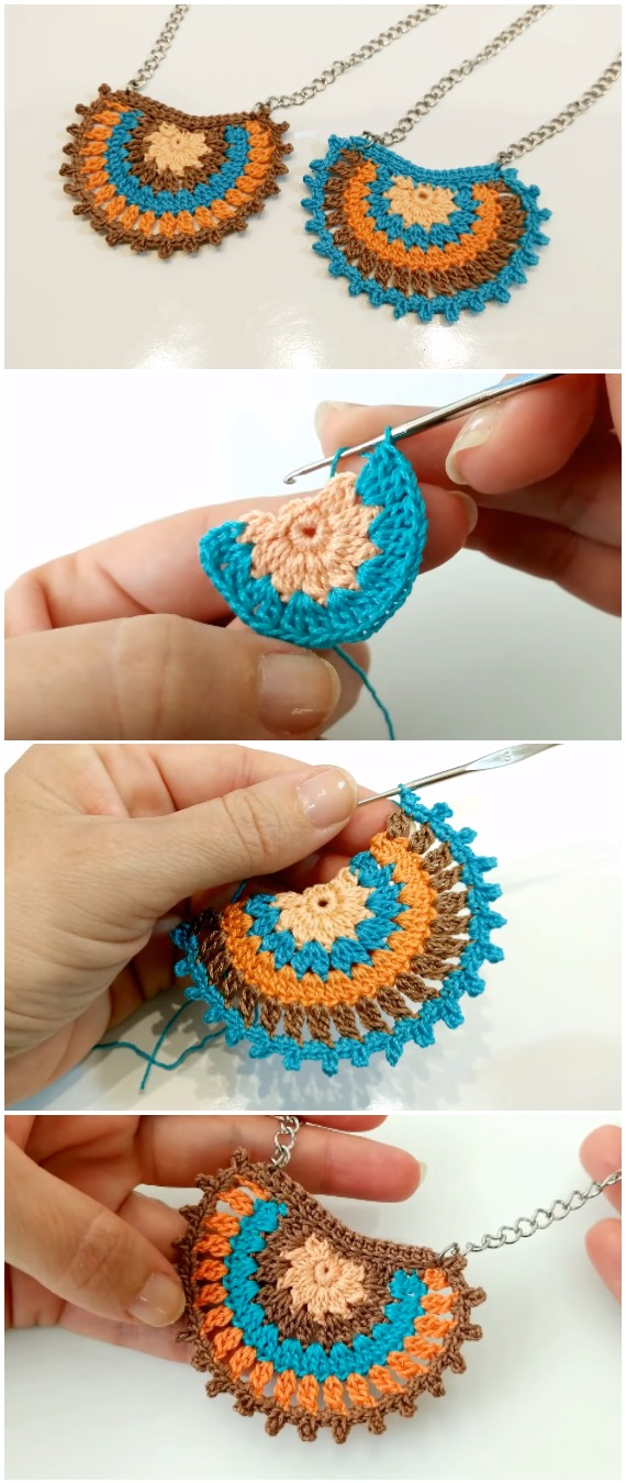 Crochet Easy Boho Necklace