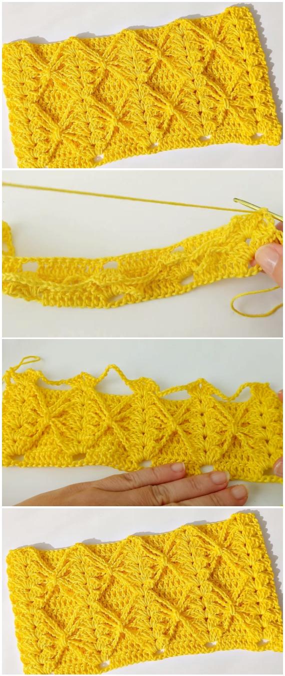 Easy To Crochet Beautiful Stitch
