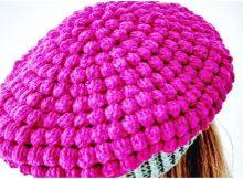 Woman's Hat Bubble Stitch