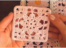 Easy Lace Motif Granny Square