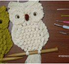 Easy Macrame Owl