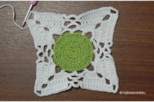 Granny Square Double Stitch