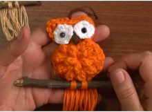 Creative Mini Macrame Owl
