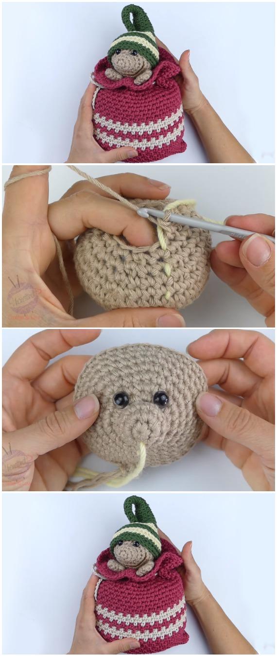 Crochet Christmas Gnome Amigurumi