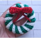 Crochet Christmas Wreaths Ornament