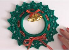 Easy Christmas Wreaths Ornament