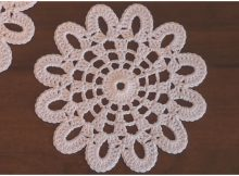 Easy Flower Doily