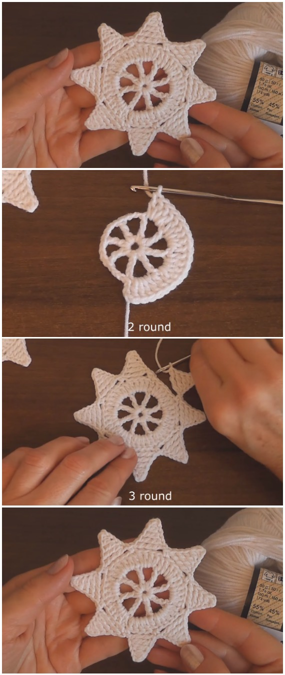 Learn To Crochet Christmas Ornaments