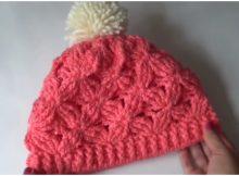 Beanie Hat Relief Stitch