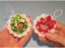 Christmas Wreath Amigurumi