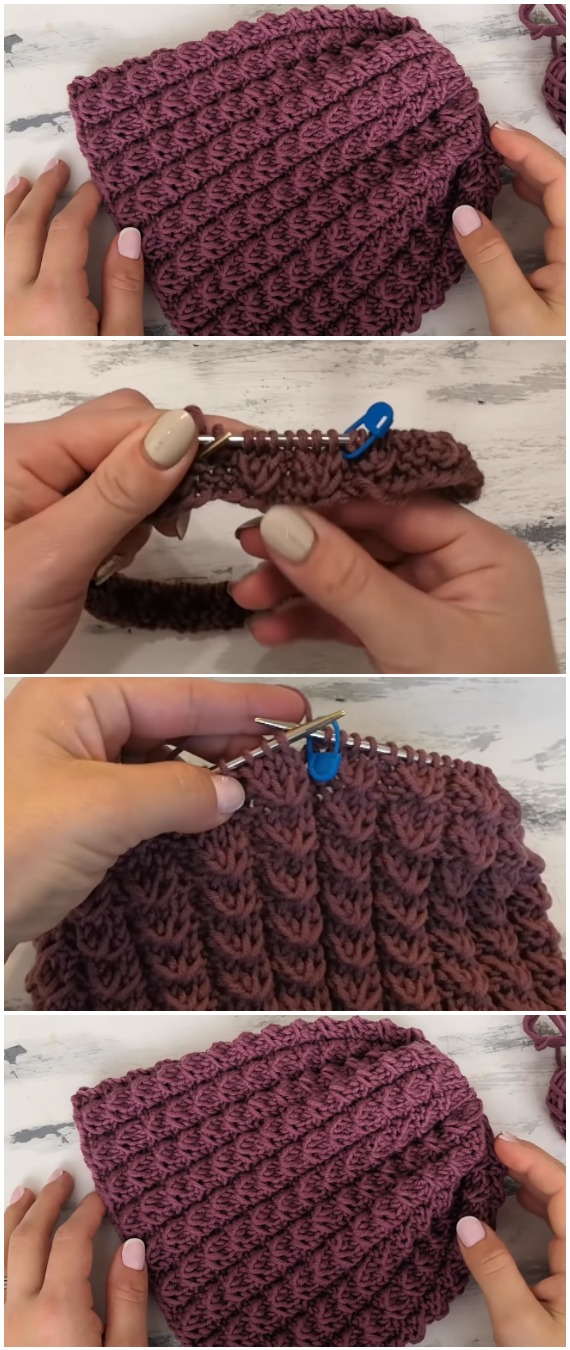 Easy To Make Women's Winter Hat
