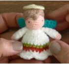 Mini Angel Amigurumi